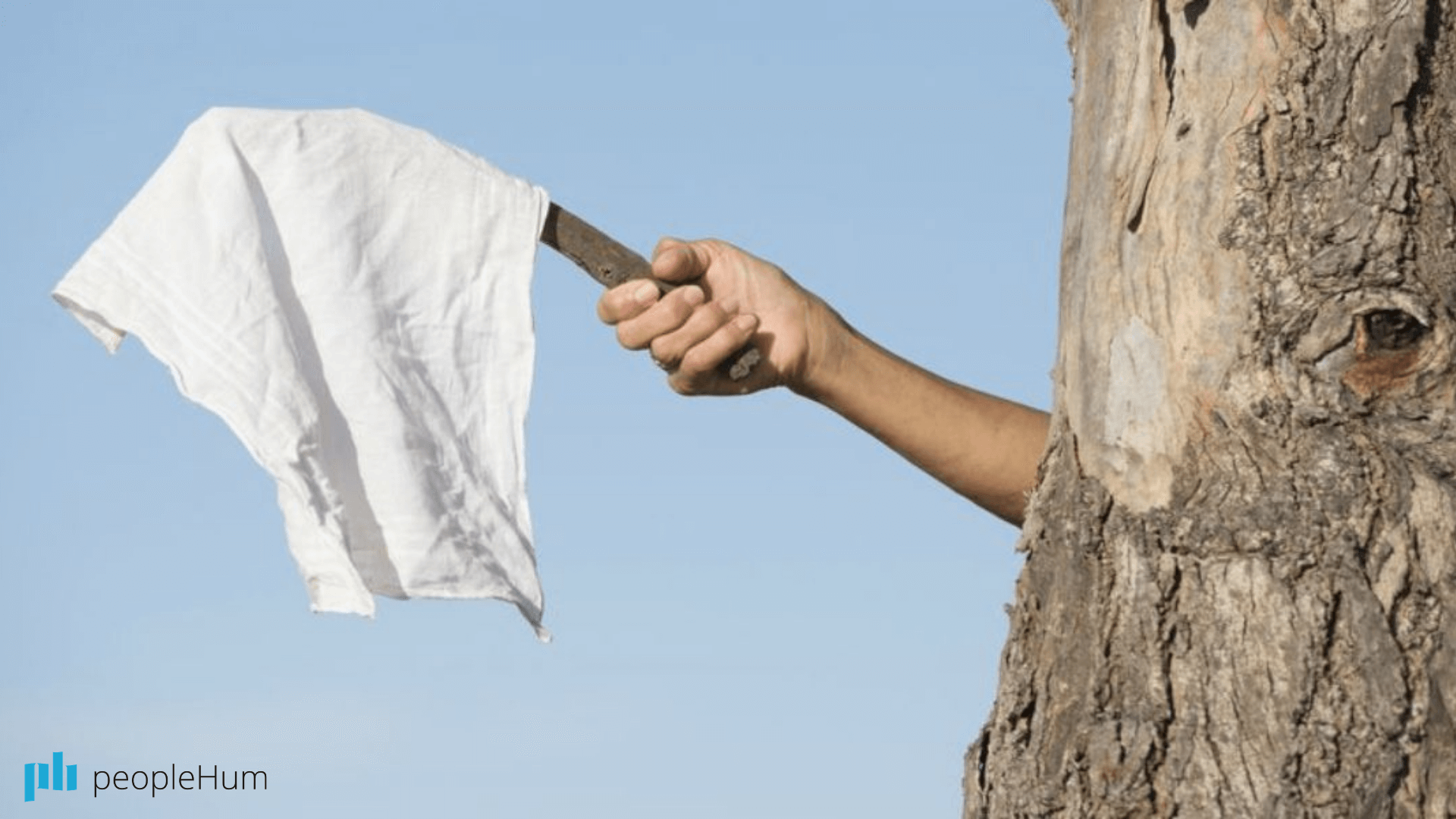 Excellent leaders know when to wave the white flag