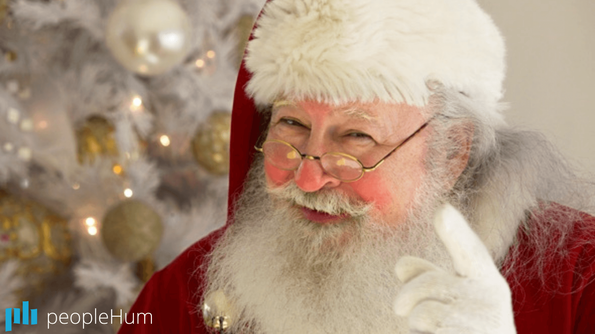 The greatest leader ever? Santa Claus!