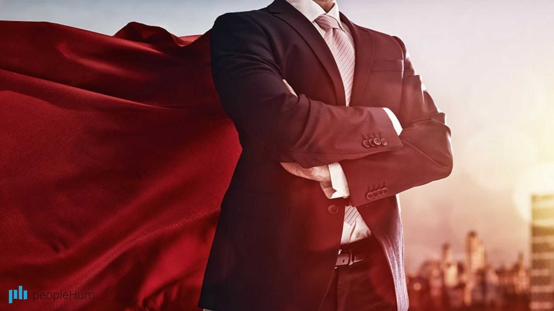 A leader is not a superhero!