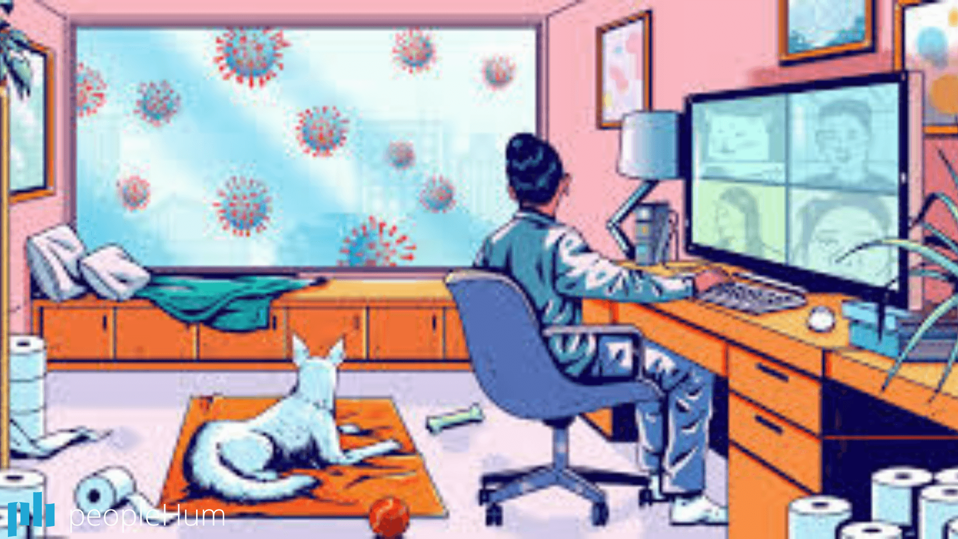 Guidebook to work from home during a pandemic