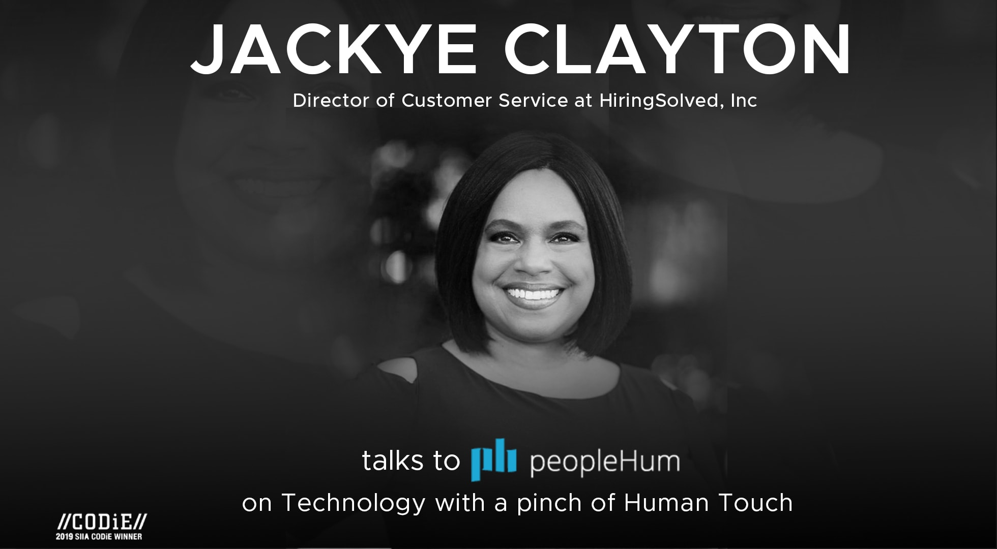 Technology with a pinch of human touch - Jackye Clayton [Interview]