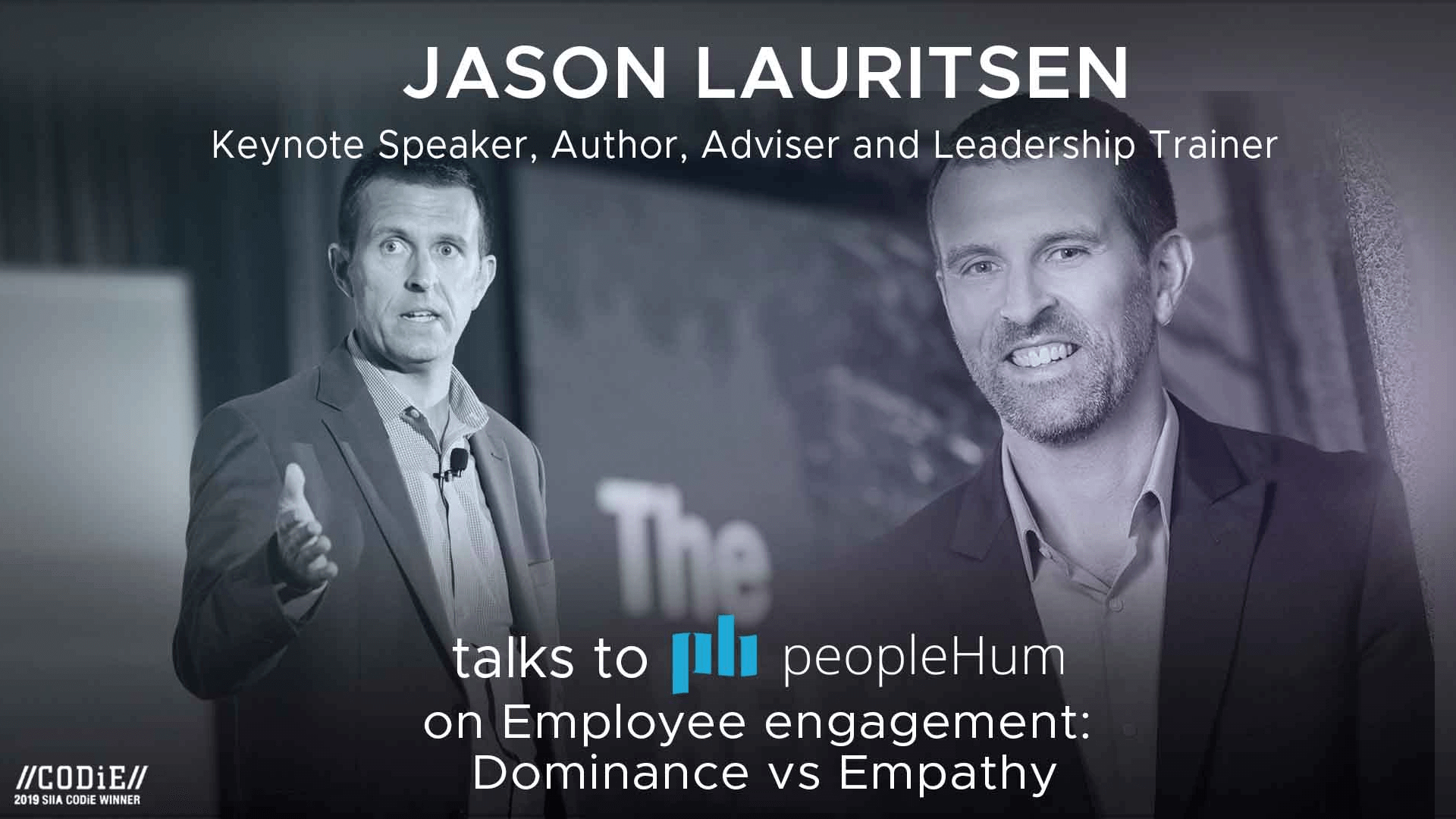Employee engagement : dominance vs empathy - Jason Lauritsen [Interview]