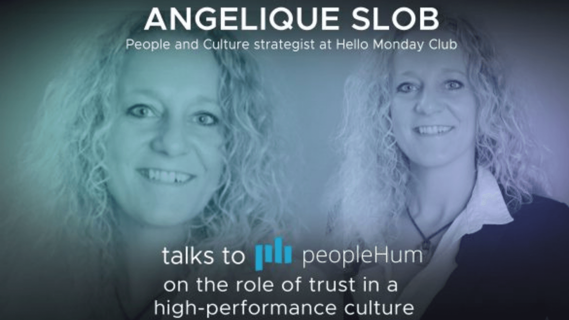 The role of trust in a high-performance culture - Angelique Slob [Interview]