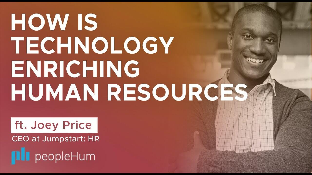 Enriching human resources with technology - Joey Price [Interview]
