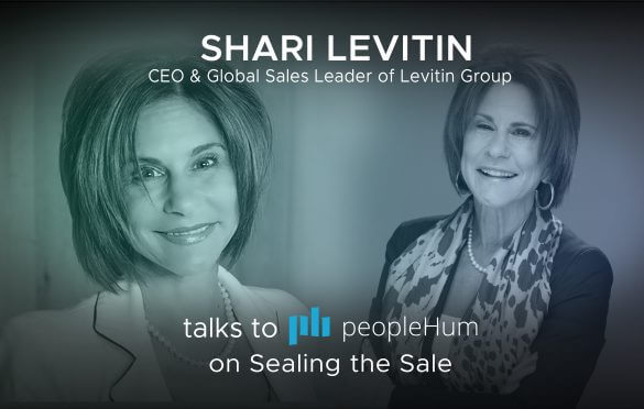 Sealing the sale - Shari Levitin [Interview]