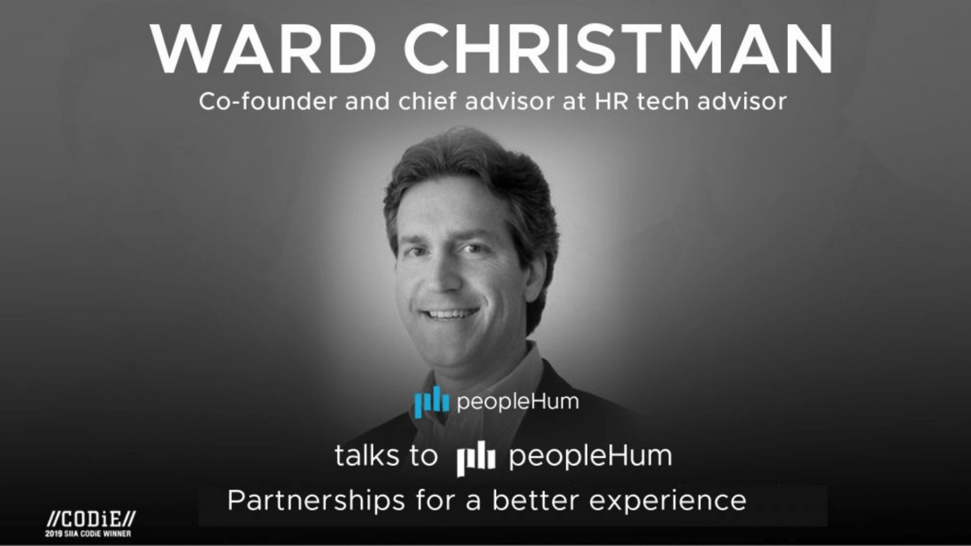 Partnerships for a better experience - Ward Christman [Interview]