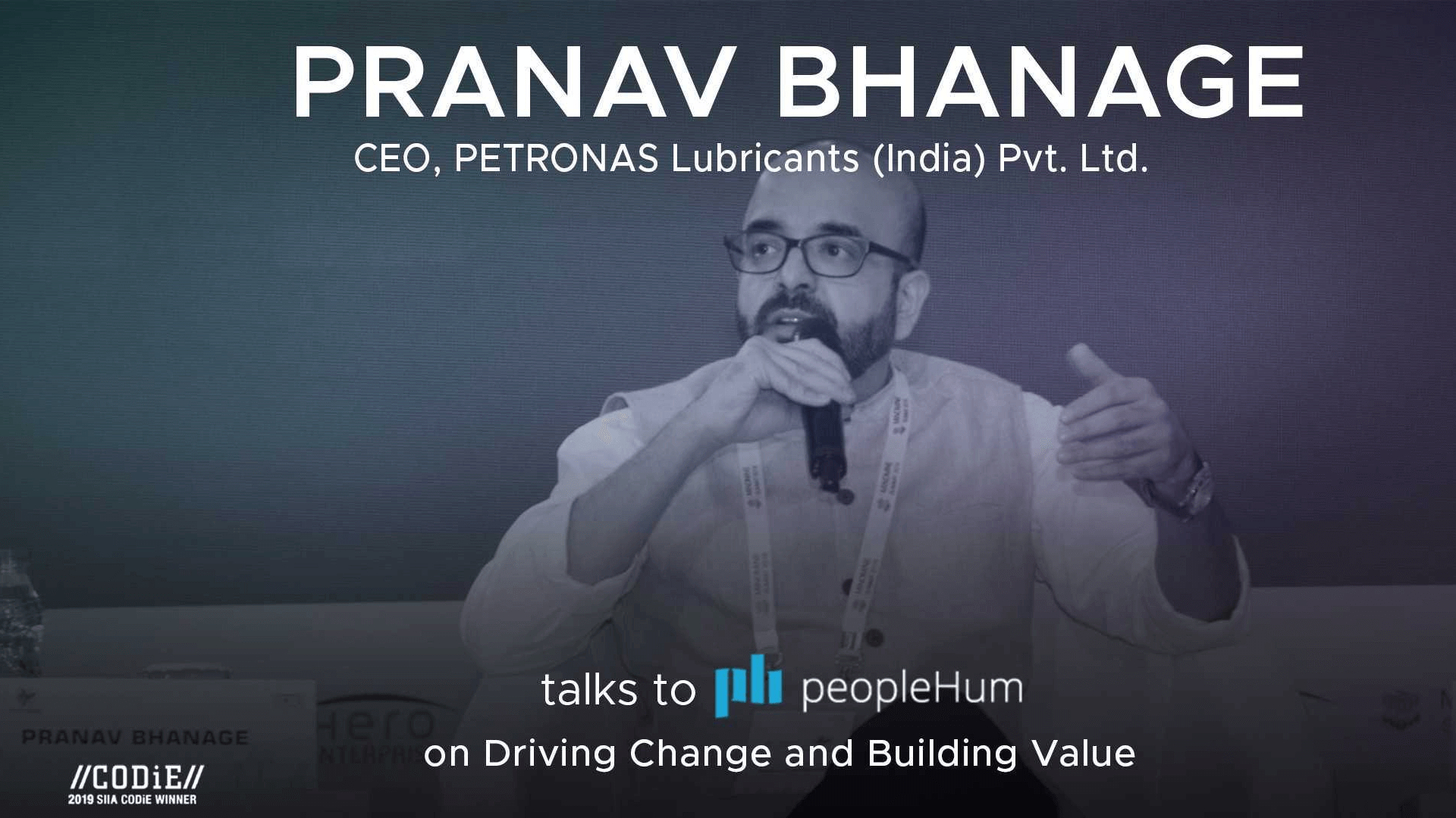 Driving change and building value - Pranav Bhanage [Interview]