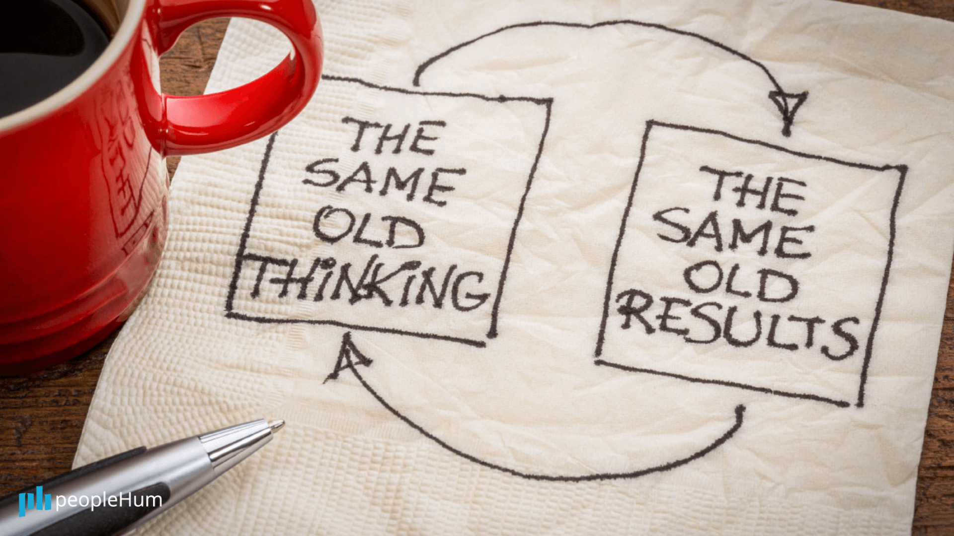 Are you trying to get new results with old thinking?