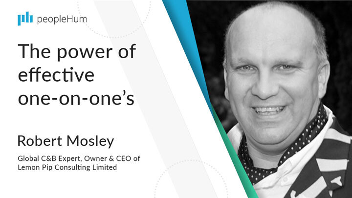 The power of effective one-on-one's | Robert Mosley | peopleHum