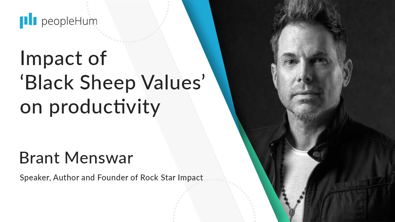 Impact of 'Black Sheep Values' on productivity | Brant Menswar | peopleHum