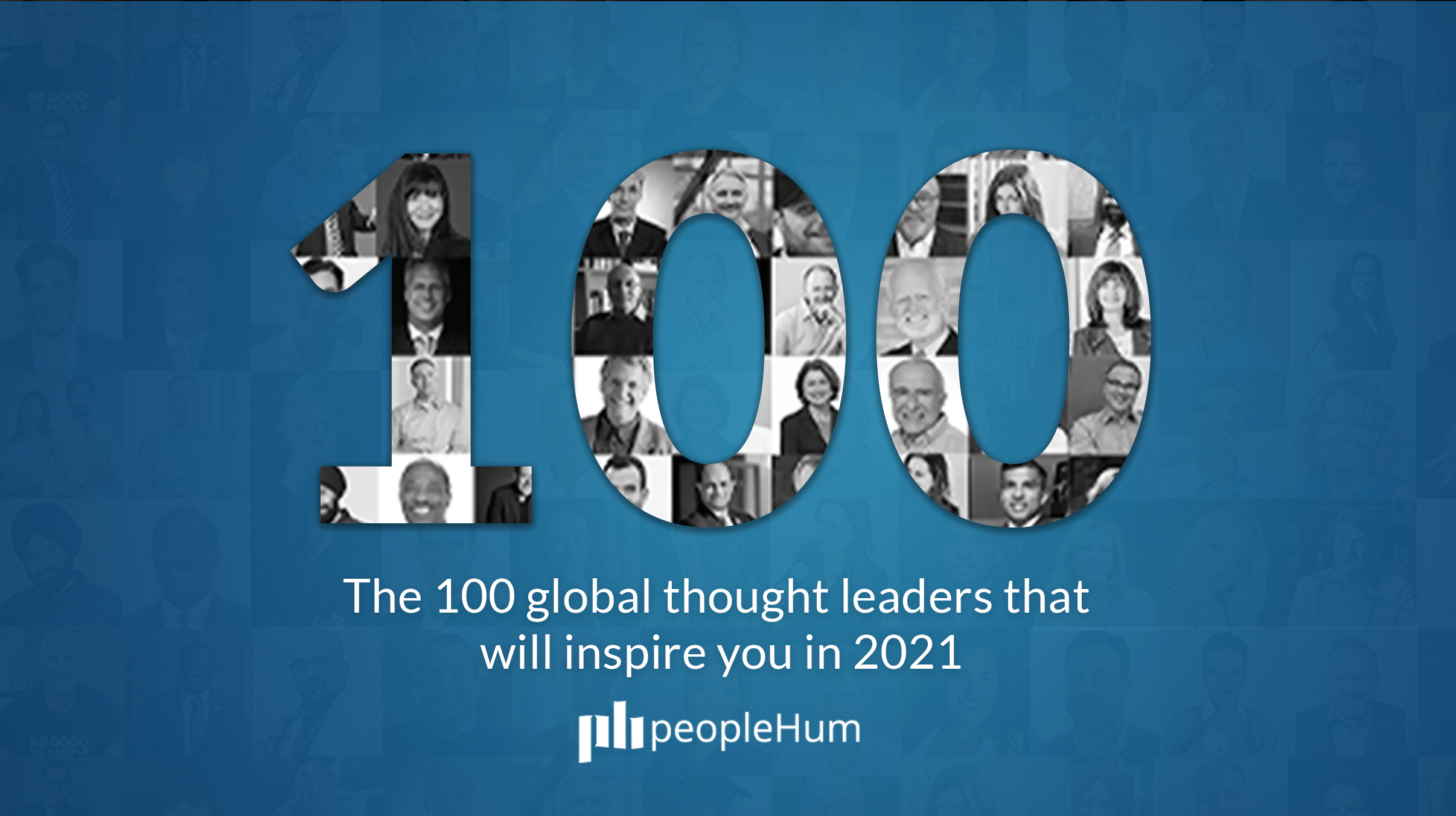 The 100 global thought leaders that will inspire you in 2021