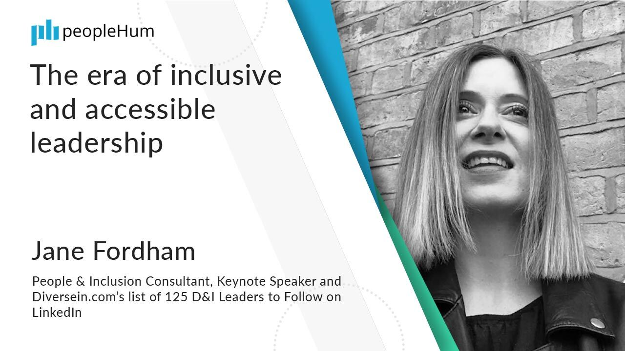 The era of inclusive and accessible leadership ft. Jane Fordham peopleHum