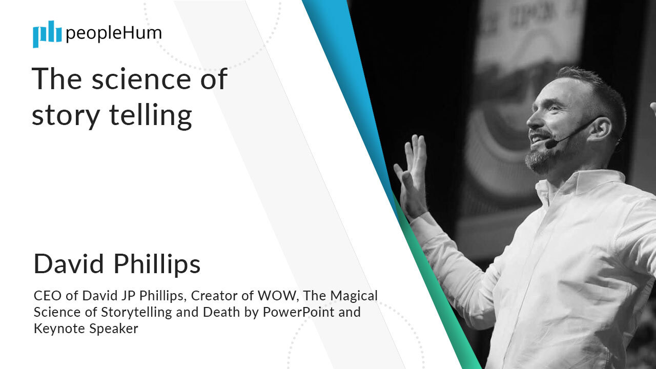 The science of story telling ft. David Phillips peopleHum
