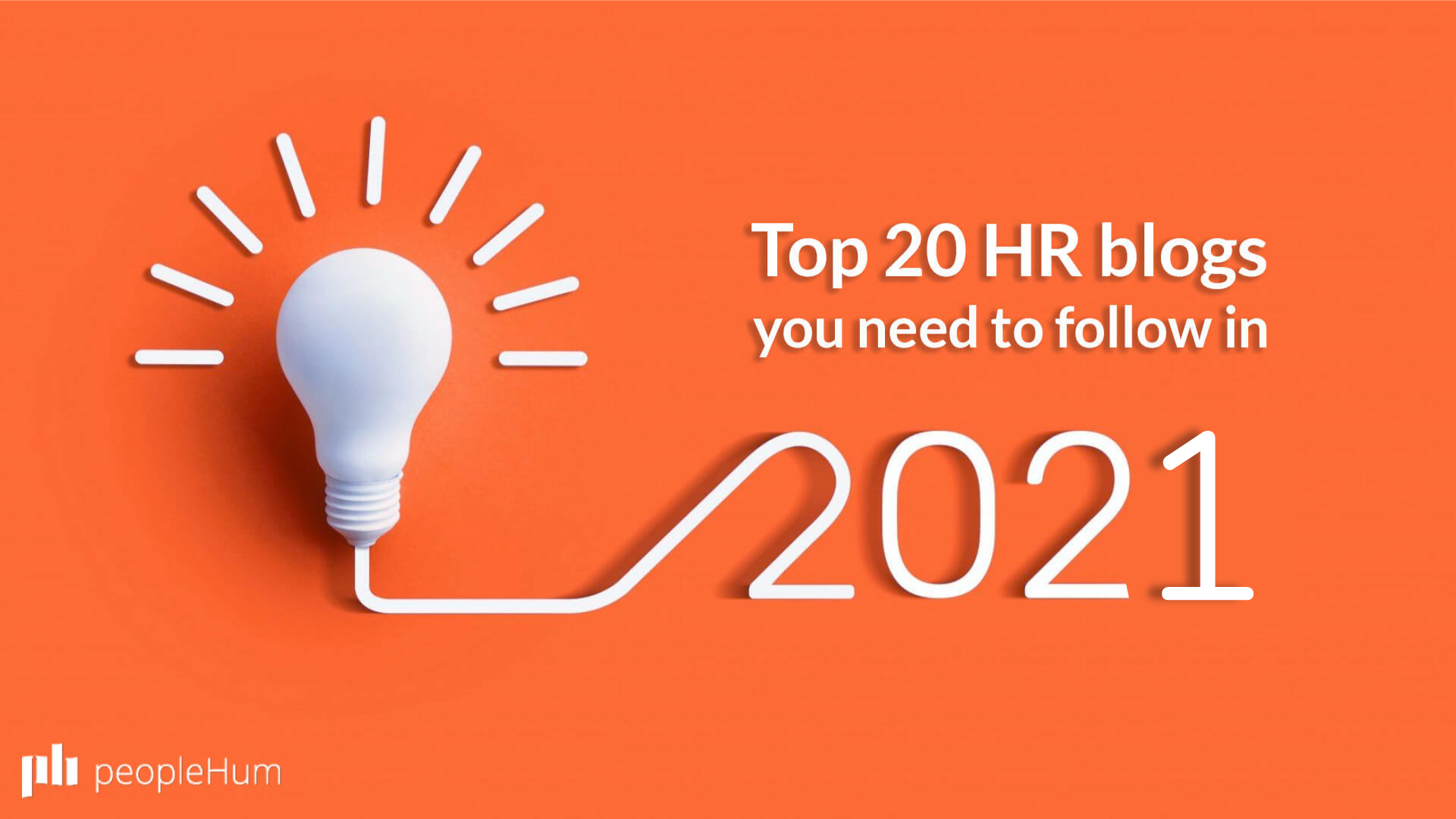 Top 20 HR blogs you need to follow in 2021