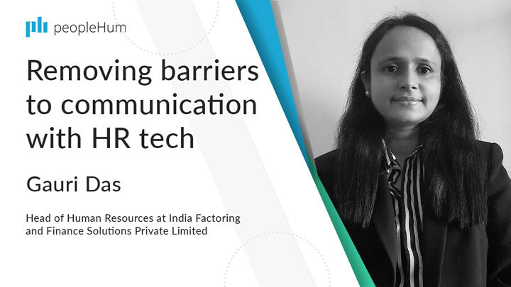 Removing barriers to communication with HR tech ft. Gauri Das peoplehum