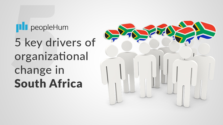 5 key drivers of organizational change in South Africa
