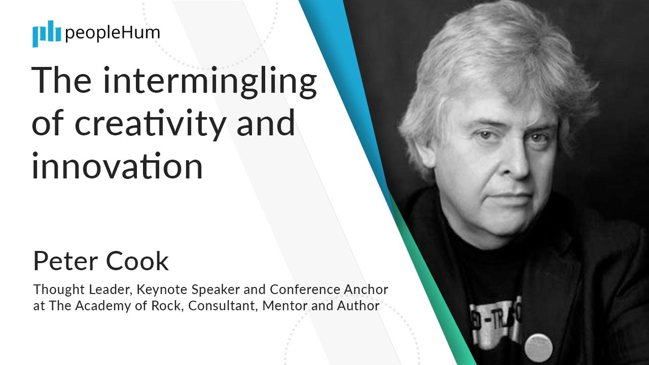 The intermingling of creativity and innovation ft. Peter Cook peopleHum
