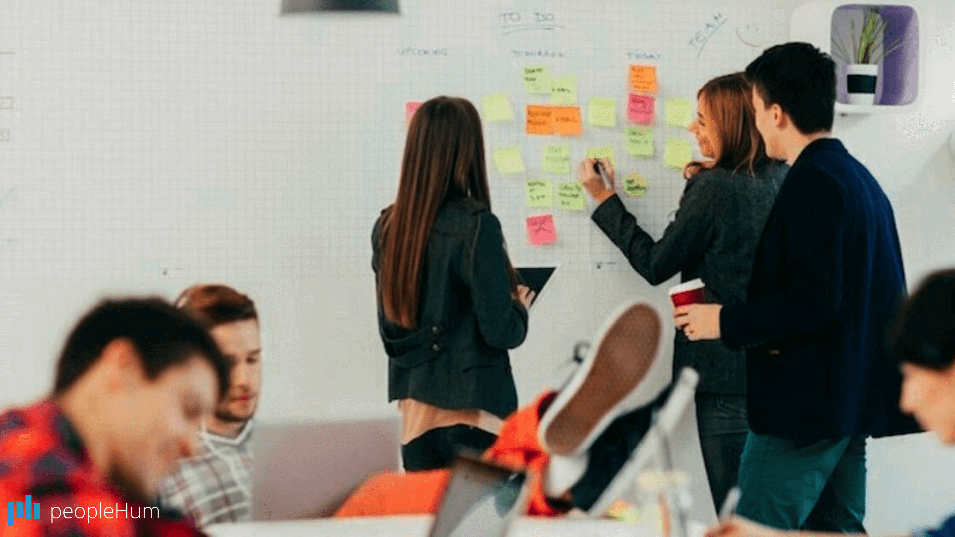 The company culture at peopleHum