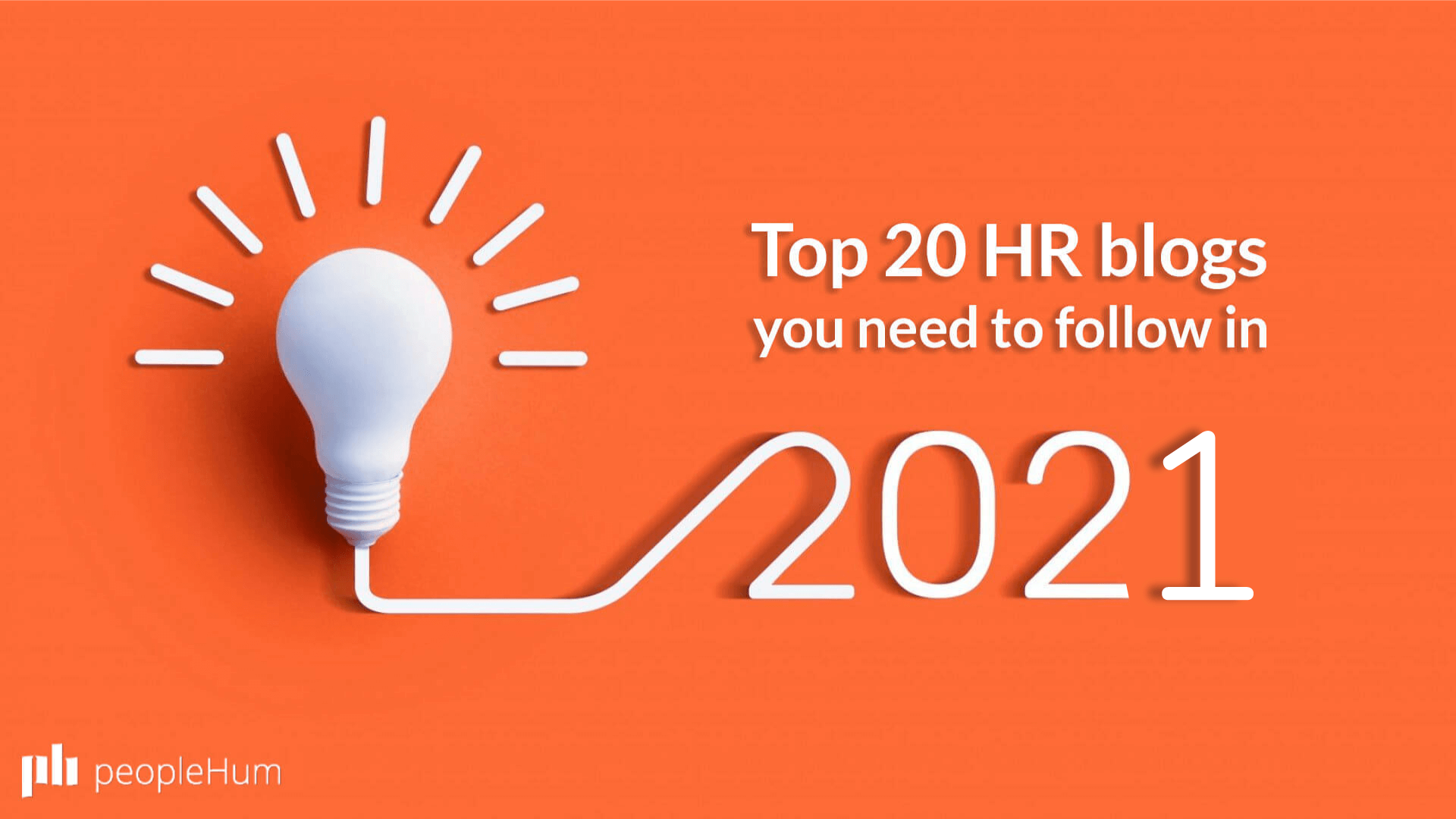 Top 20 HR Blogs You Must Follow in 2021