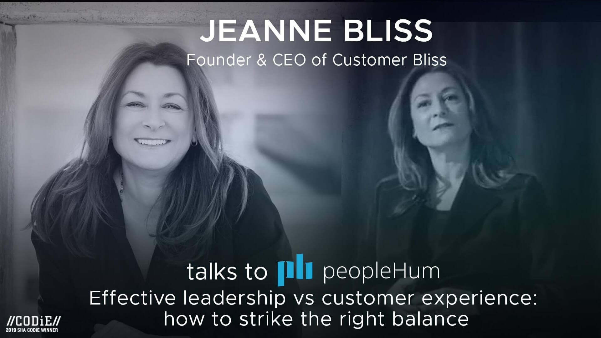 Effective leadership vs customer experience : How to strike the right balance - Jeanne Bliss [Interview]