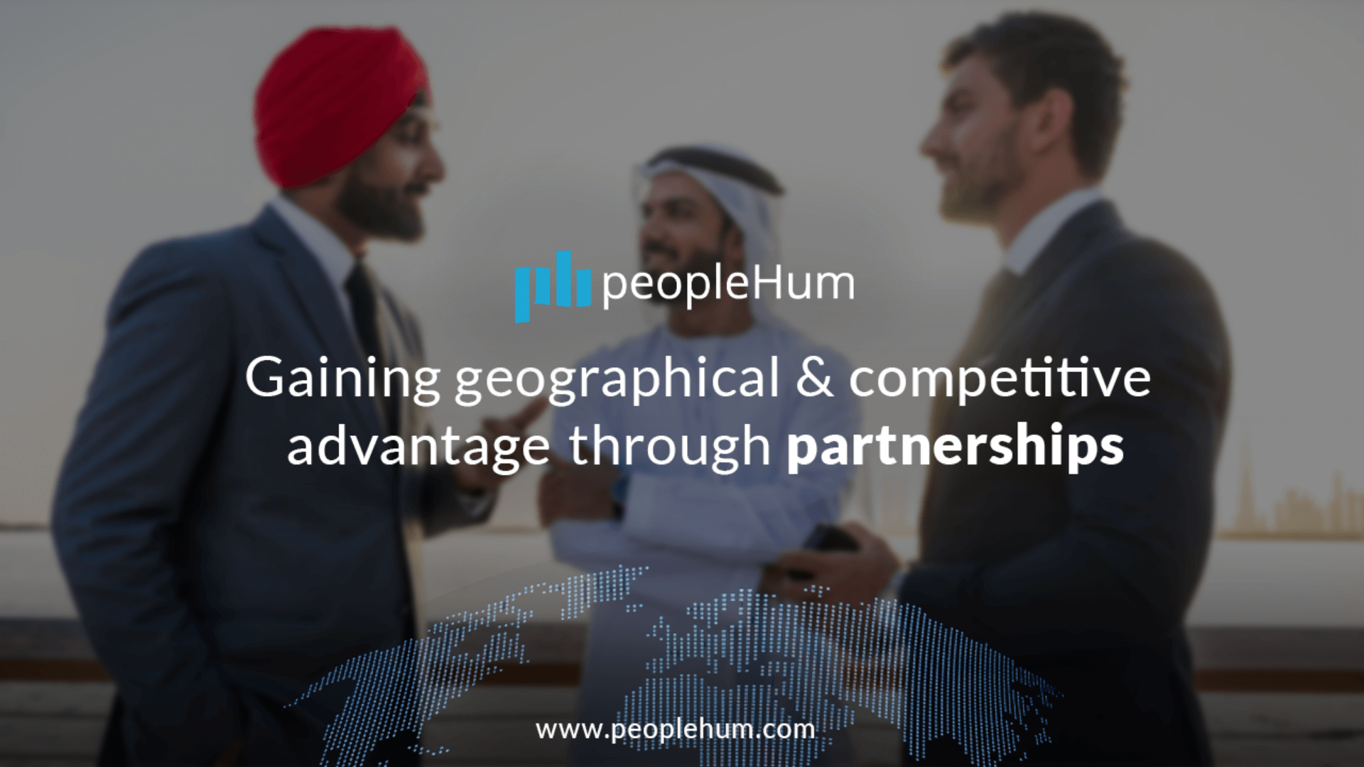 Gaining geographical and competitive advantage through partnerships