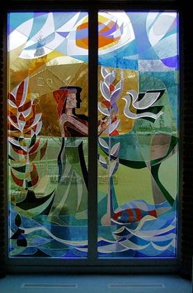 Glas in lood raam Utrecht