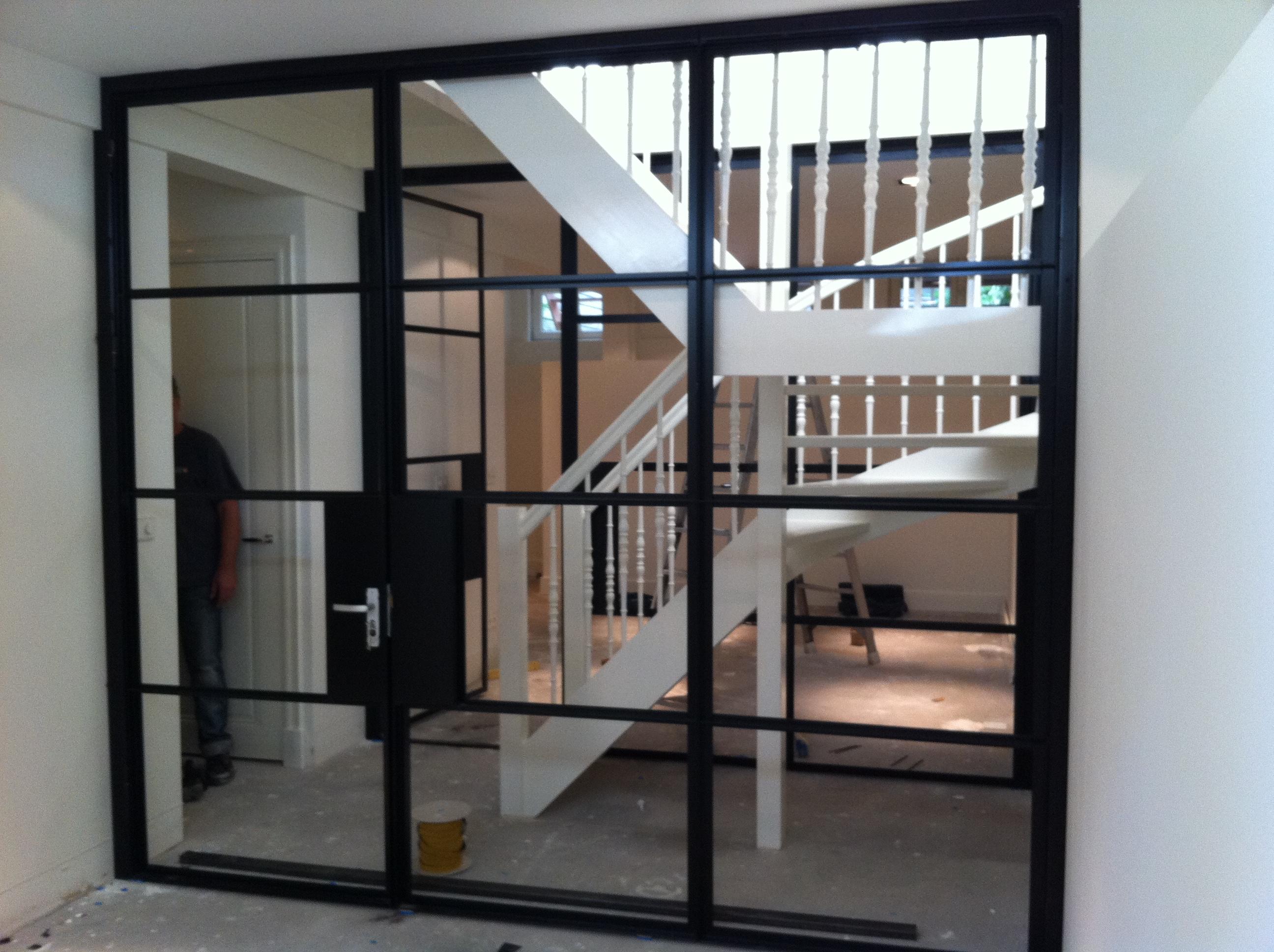 Stalen kozijnen binnendeur Hilversum