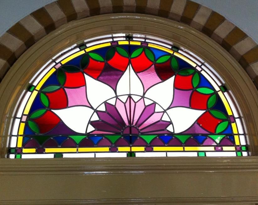 Glas in lood panelen