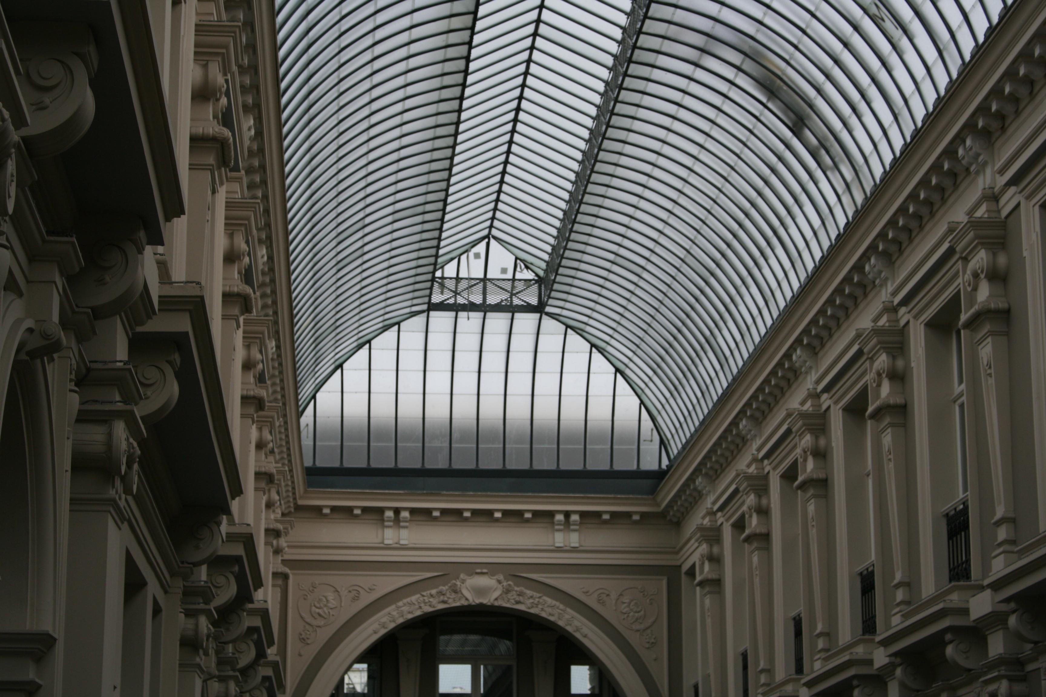 glazen dak vervangen monument