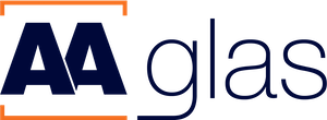 Het AA Glas logo