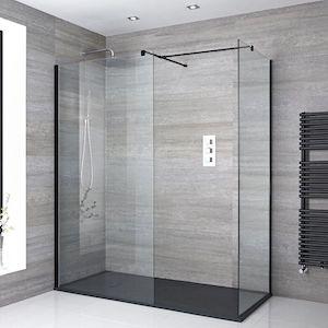 Voorbeeld van een douchecabine op maat