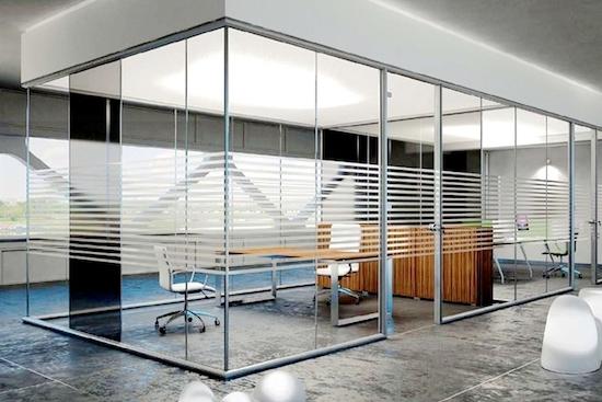 Glazen vergaderruimtes voor kantoren