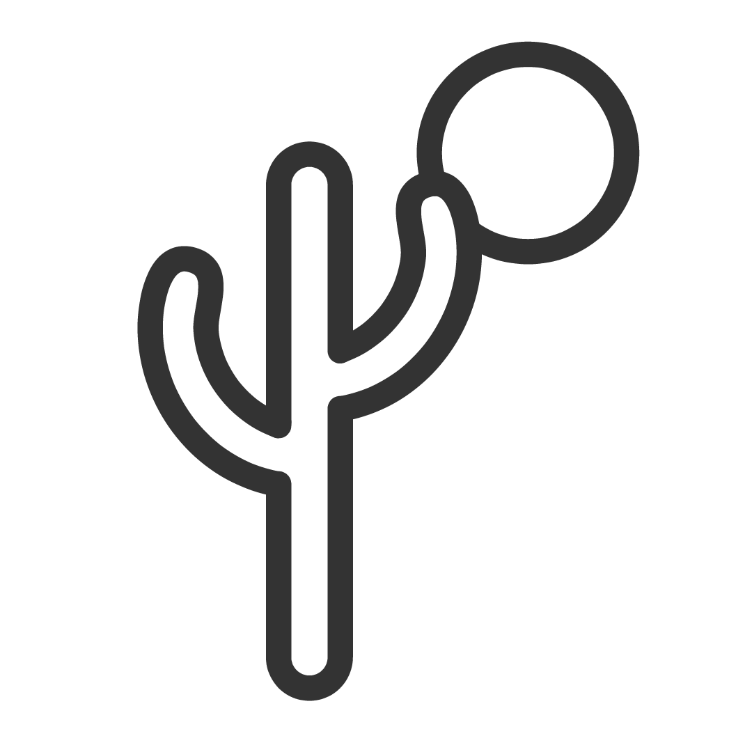 locations cactus icon