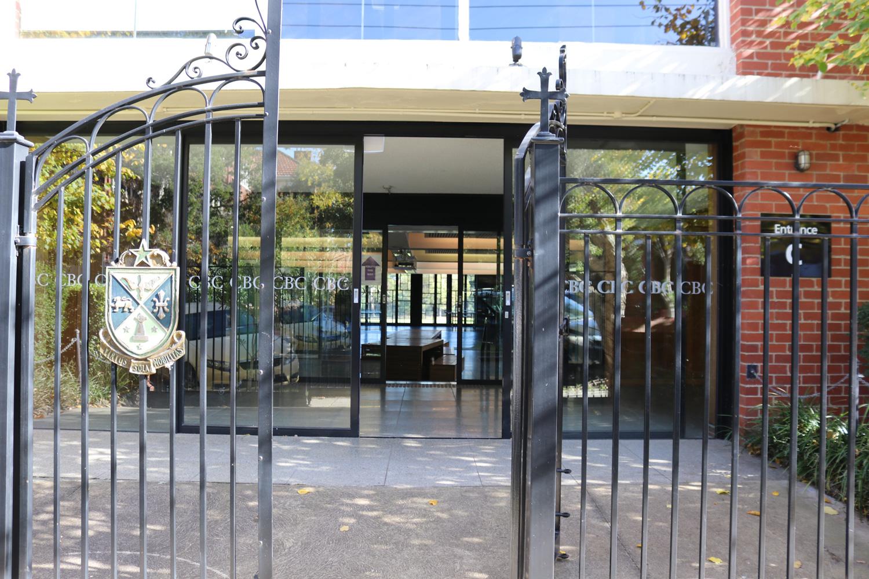 Logue Hall Entrance