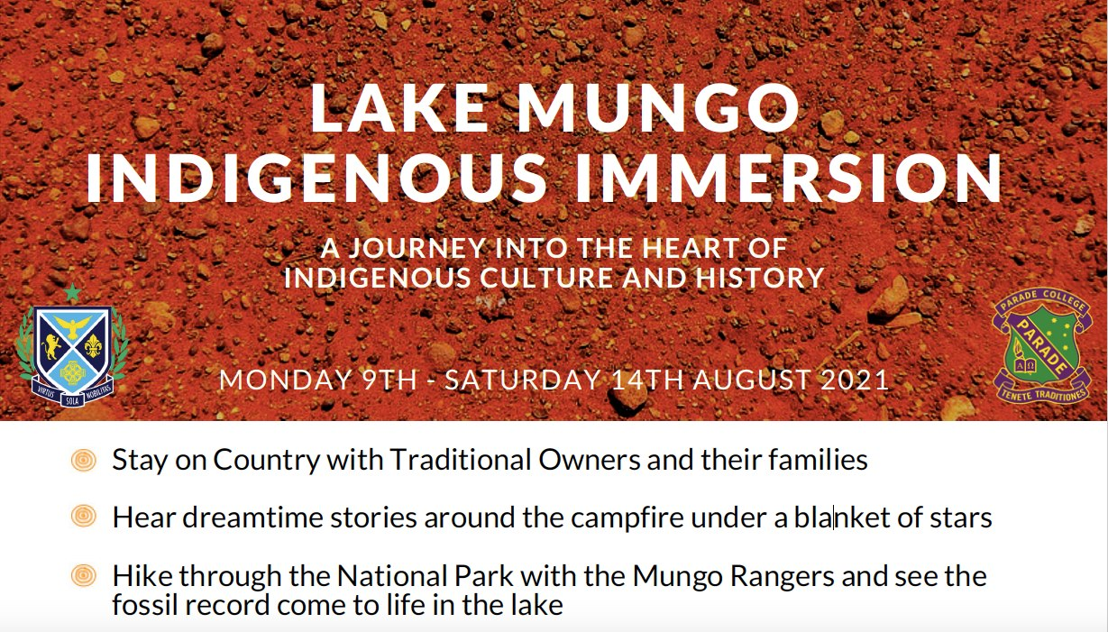 Lake Mungo Indigenous Immersion Applications Close 30 March