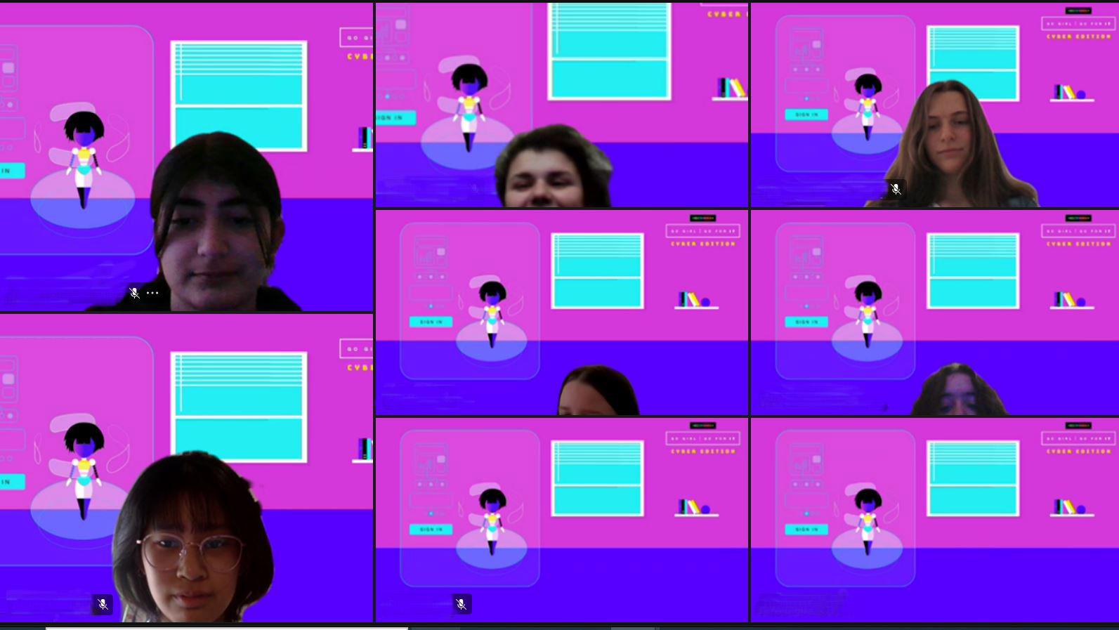 Go Girl Cyber Workshop