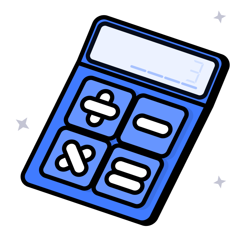 Illustration of a calculater