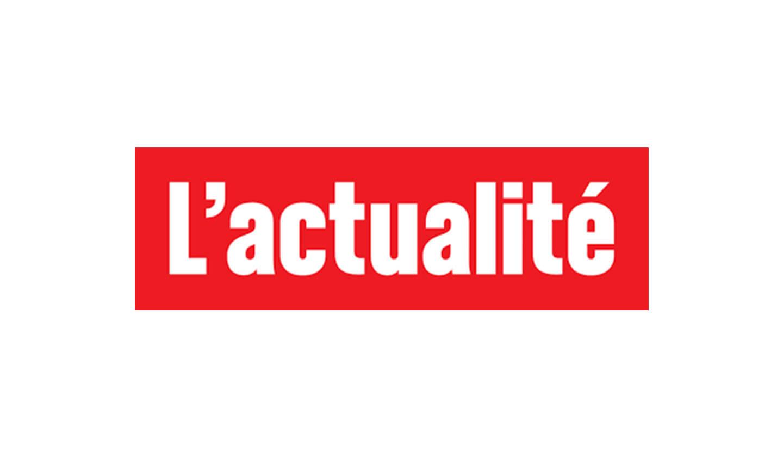 Logo L'actualité