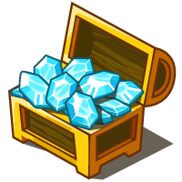 CodeCombat treasure chest with jewelss