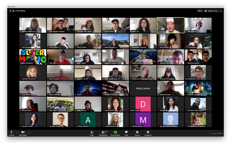 HappyCo Lunch Zoom Call