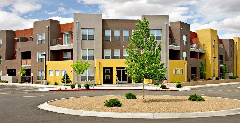 suburban complex