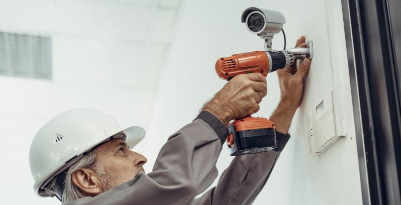 installing cameras