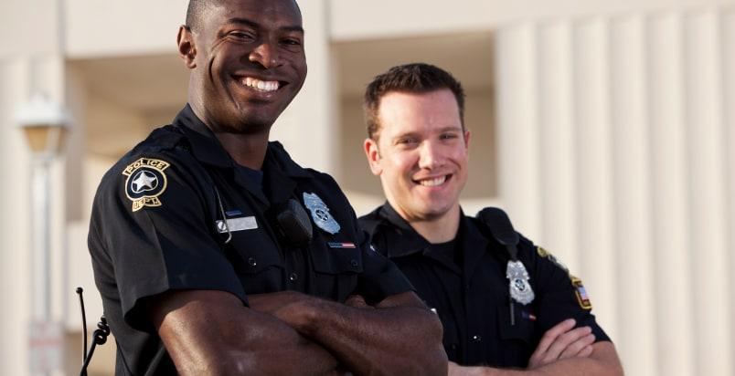 male cops