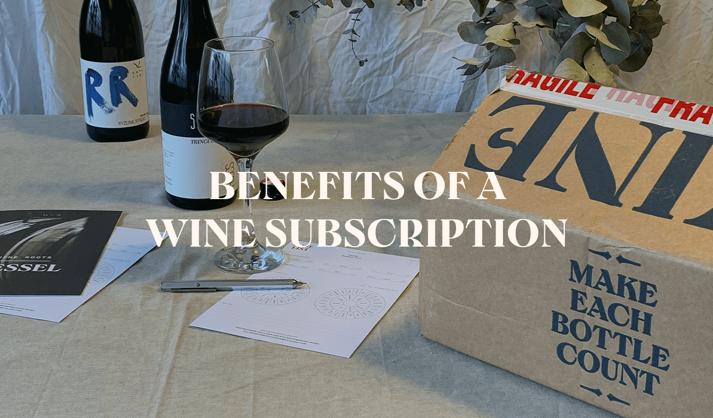 How does a wine subscription work?