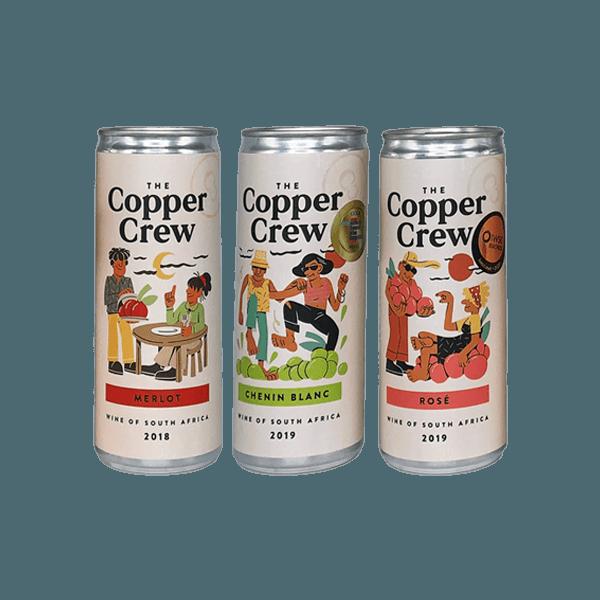 Copper Crew 3 Box Canned Wine