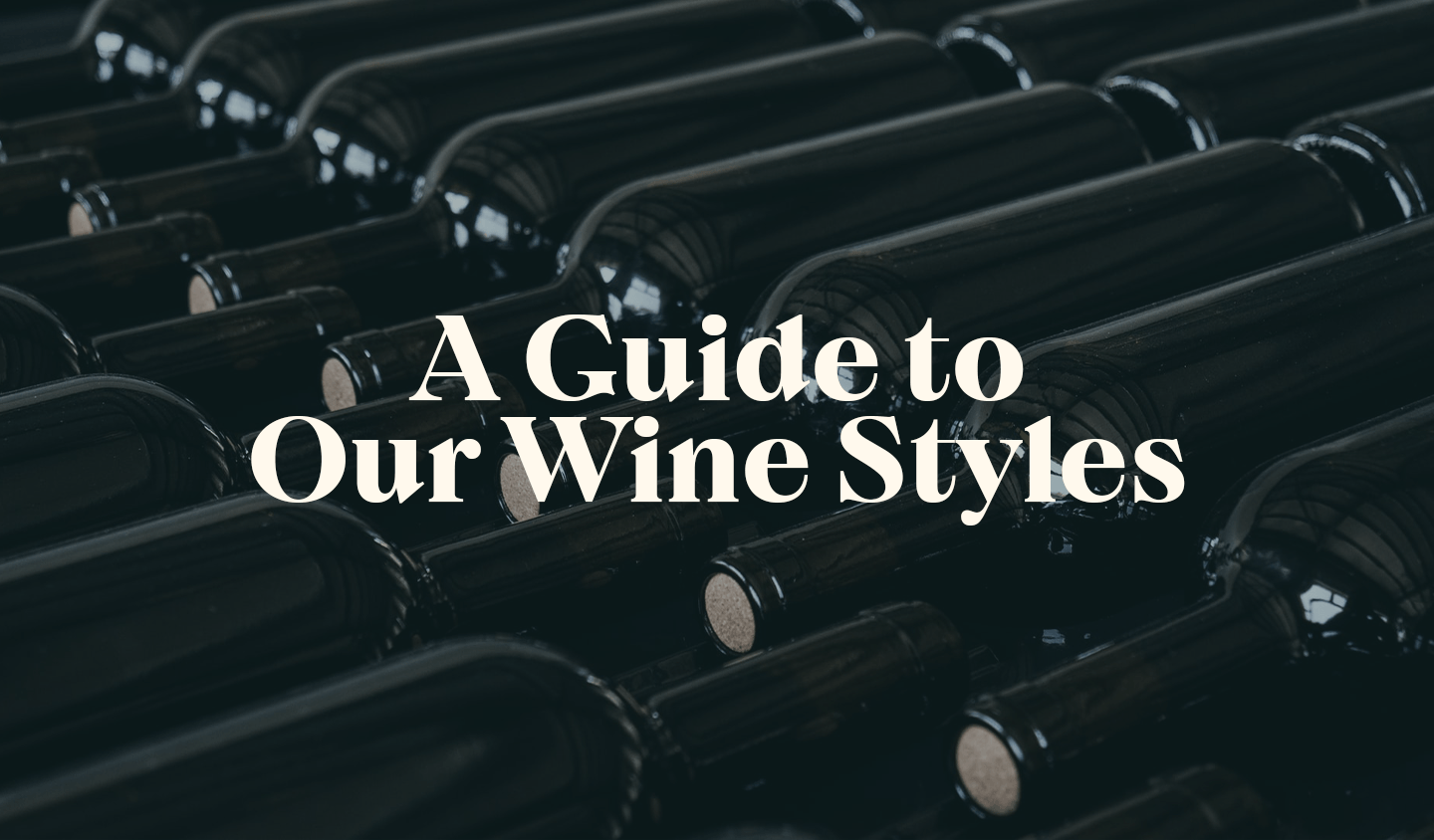Introducing our Wine Styles