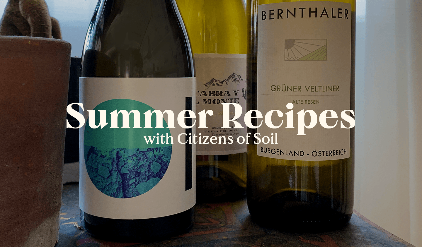 Summer Recipes with Citizens of Soil