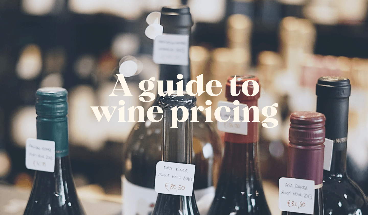 How is Wine Priced?