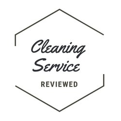 cleaning service reviewed logo