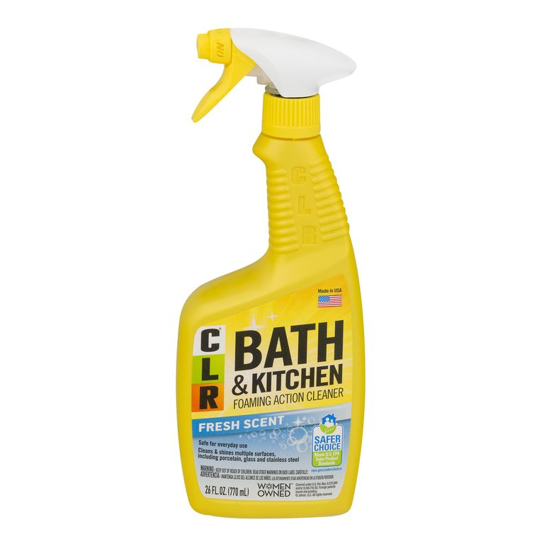 CLR Bath and Kitchen Foaming Action Cleaner